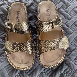 Alegria sandals. Size 8 1/2